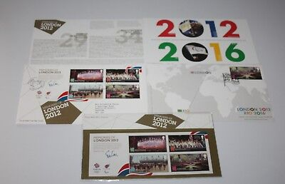 Royal Mail - Memories of London 2012 - Presentation Pack & 2 x FDC's