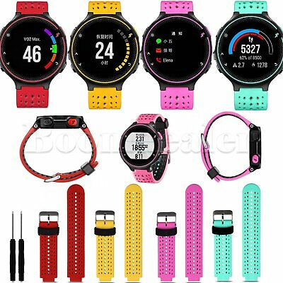 Silicone Wrist Band Strap For Garmin Forerunner 235 630 230 GPS Watch + TOOLS