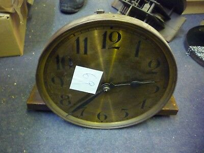 Interesting 1930s Grandfather Clock Weight Driven Movement+Dial Marked CB (69)