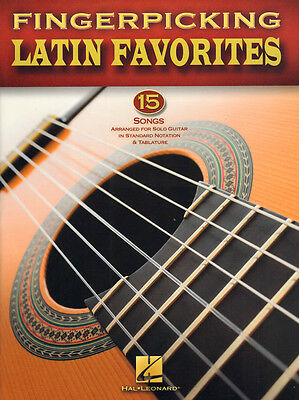Fingerpicking Guitar ... Latin Favorites 15 Songs für Gitarre Noten Tab