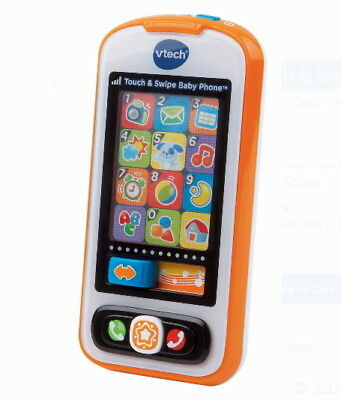 Toy Play VTech Touch & Swipe Baby Phone Educational Play New Kids