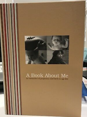a Book About Me Baby Record Book - Pregnancy To 5 Years