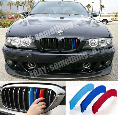 BMW 5,E39 1995-03,saloon/estate Grille M5 tri-Colours Cover/Cap/Clip/Strip/Trim