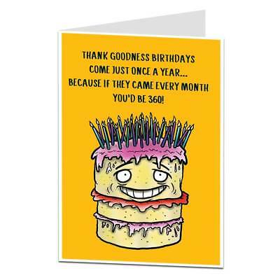 Funny 30th Birthday Card For Men Women 30 Today Brother Sister