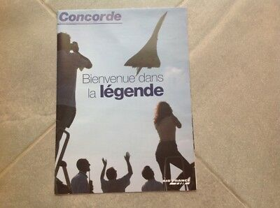 Air France Poster Concorde 2003 - Neuf