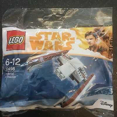 LEGO STAR WARS Imperial AT Hauler 30498  POLYBAG RARE 2018 Han Solo Movie Disney