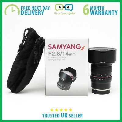 *Used* Samyang 14mm f/2.8 ED AS IF UMC Lens for Sony E Mount - 6 Months Warranty