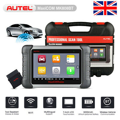 Autel MK808BT Auto OBD2 Scanner Tool Diagnosis System ABS SRS Airbag SAS EPB DPF