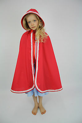 Little red riding hood girls CAPE costume only