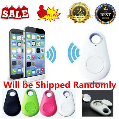 Nut Mini Smart Tag Tracker Bluetooth Anti-lost Alarm Key Finder Locator Blue - intl