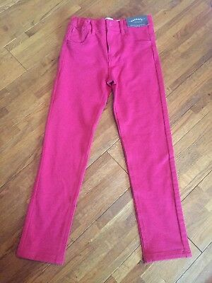 Girls Pink Fat Face Stretch Skinny Jeans Age 7