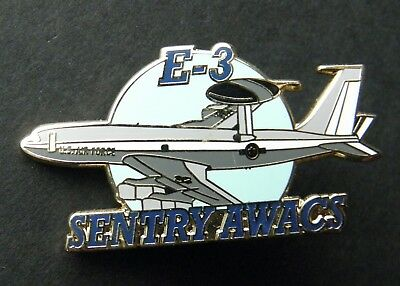Sentry E-3 Awacs Early Warning Usaf Air Force Aircraft Lapel Pin Badge 1.5 ""