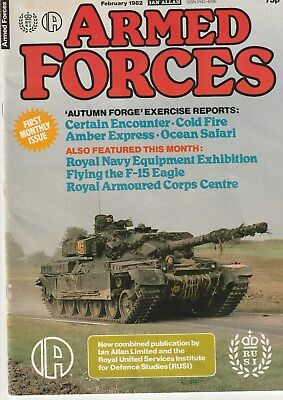 ARMED FORCES   Ian Allan   February  1982       Military Magazine