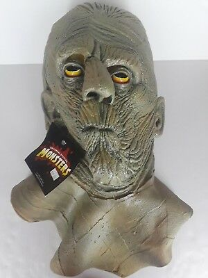 The Mummy Full Head Mask by Illusive Concepts Tag 1997 Universal Monsters