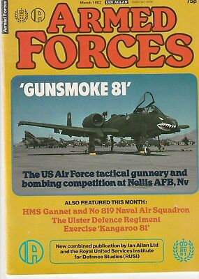ARMED FORCES   Ian Allan   March  1982       Military Magazine