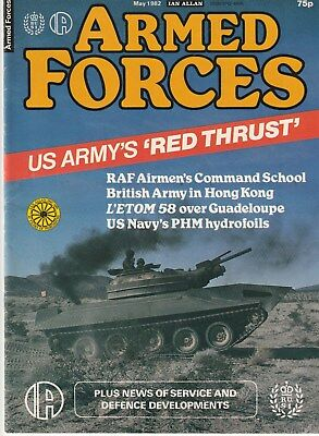 ARMED FORCES   Ian Allan   May   1982       Military Magazine