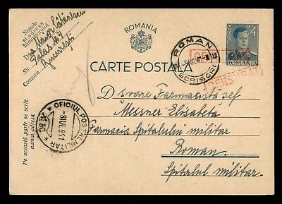 Dr Who 1941 Romania Postal Card Stationery C38985