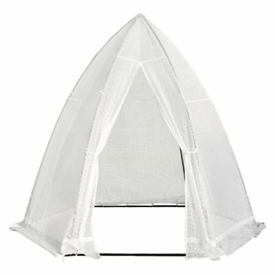 Abba Patio Portable 10.4'D x 9'W Hexagonal Walk in Greenhouse Fully Enclosed ...