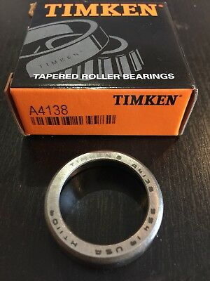 Timken A4138 Tapered Roller Bearing Cup, A 4138 SAME DAY SHIPPING!!!!