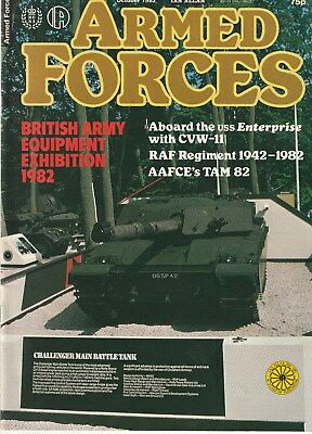 ARMED FORCES   Ian Allan   October 1982       Military Magazine