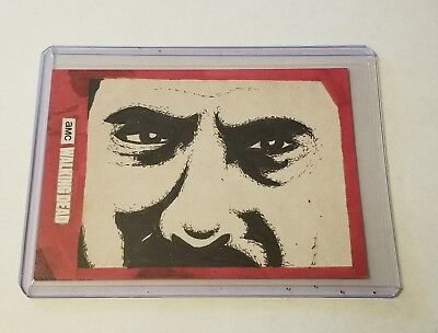 2018 Topps Walking Dead Season 8 Sketch Card From Trent Westbrook 1/1 New