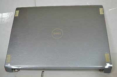 """New Genuine Dell Studio 1735 1737 17"""" Lcd Back Cover Pink Trim W/ Hinges P637X"""