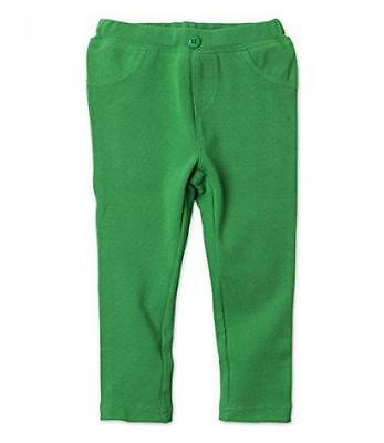 Zutano Primary Solid Stretch Knit Jegging- Apple, 2T