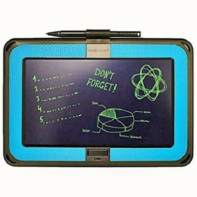 Boogie Board Dashboard E-Writer with Wall Mount and Templates, Blue