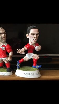 "George North Action Grogg. 9"" /wales"