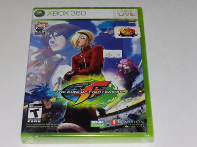 King of Fighters XII Microsoft Xbox 360 Video Game New Sealed