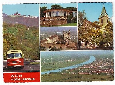 Old Postcard - Wien; Hohenstrasse (Various Views) - Posted 0434