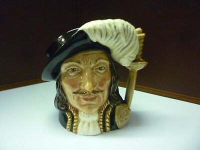 Small Vintage Doulton Toby Jug Athos See Large Collection Listed