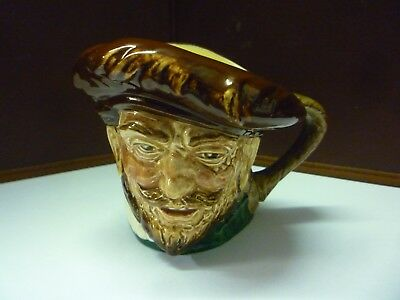 Small Vintage Doulton Toby Jug Drake See Large Collection Listed