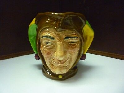 Small Vintage Doulton Toby Jug Jester See Rest Of Large Collection Listed