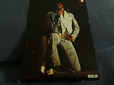 Elvis Presley POSTCARD PRODUCED FOR RCA SOMETIME IN THE EARLY 1970'S