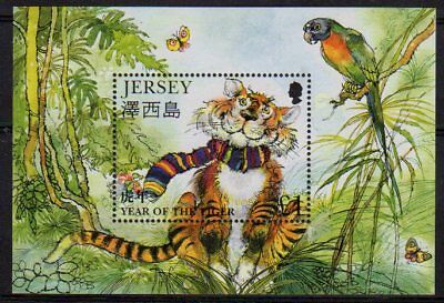 Jersey 1998 Year of the Tiger min. sheet fine fresh MNH