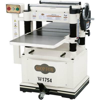 "Shop Fox W1754 20"" Planer with Built In Mobile Base"