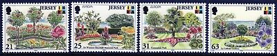Jersey 1999 Parks and Gardens set fine fresh MNH