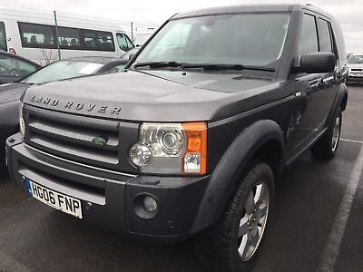 2006 Land Rover Discovery 3 Tdv6 Hse Spare Or Repair For Parts