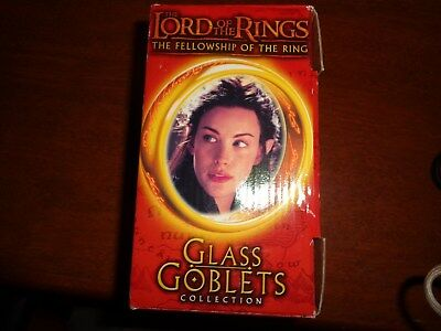 Lord Of The Rings Glass Goblet Collection Arwen The Elf