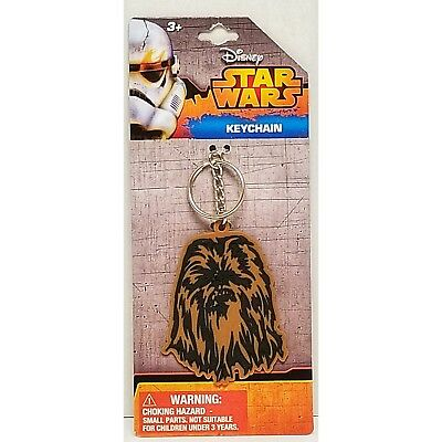 Star Wars Chewbacca Keychain Rubber Bag Clip Accessory