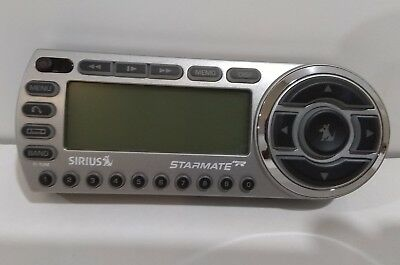 Sirius Starmate ST2 Satellite Receiver w/Antenna. Lifetime #B001