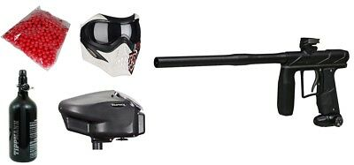 Paintball Master Package - Axe PRO + HPA Tank + Grill Mask + Halo 2 + Paintballs