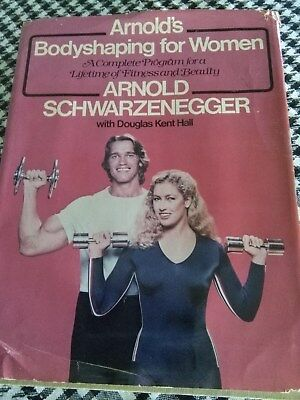 Arnold Schwarzenegger BOOK ?Bodyshaping for Women? SIGNED Autographed 1979
