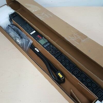 NEW APC AP8858NA3 Rack PDU 2G Metered Zero U 20A/208V Power Distribution