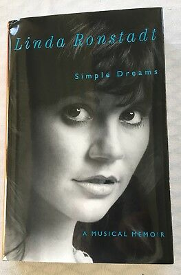 Linda Ronstadt Signed Hardcover Book Simple Dreams