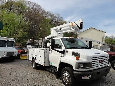 2005 Gmc C5500 Tcp 36 Cable Placer Bucket Truck