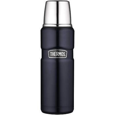OpenBox, Thermos Stainless King 16 Ounce Compact Bottle, Midnight Blue