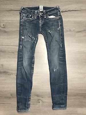 TRUE RELIGION Jeans World Tour Stella Big T Leg Size 26 Womens