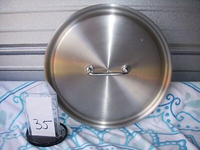 "*new Vollrath 47778 Intrigue 15 3/4"" Stainless Steel Cover With Loop Handle"